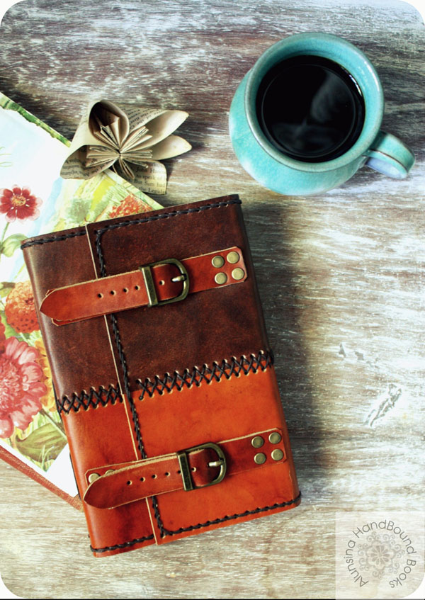 Alunsina leather journal