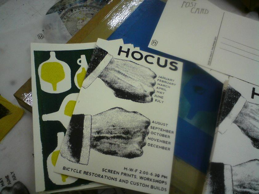 Hocus postcard