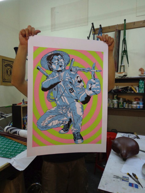 The result: a 4-color poster designed by JP Cuison.
